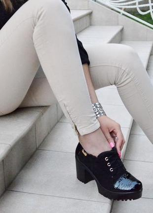 Акция ботинки женские осень весна