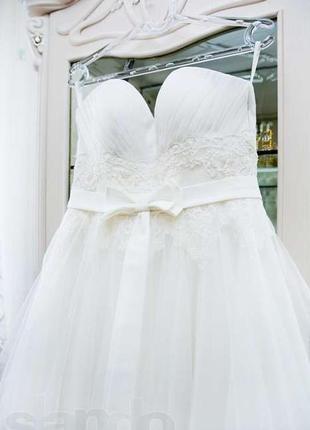 Свадебное платье марселина (дизайнер ева уткина)
