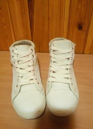 Белые кросовки/кеды