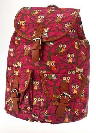 Молодежный яркий рюкзак