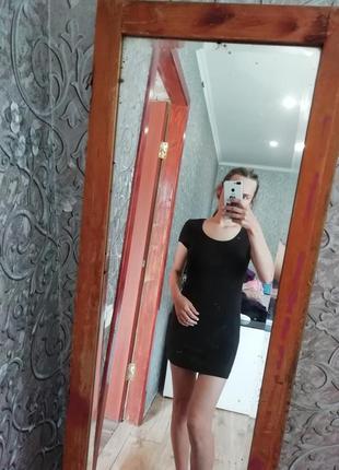 Платье футболка удлиненная футболка esmara