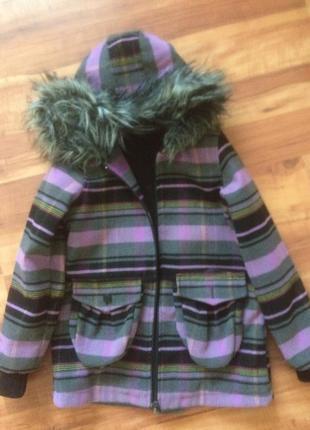 Деми куртка-пальто