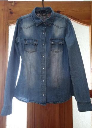 Рубашка джинсовка