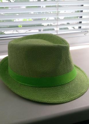 Шляпа челентанка, панама