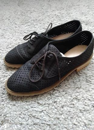 🔥 классные туфли оксфорды clark's 🔥