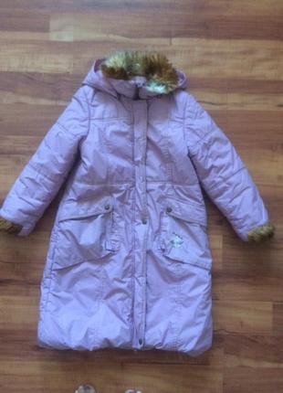 Зимнее пальто ленне