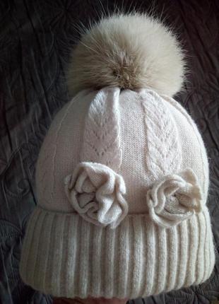 Зимняя шапочка jamiks