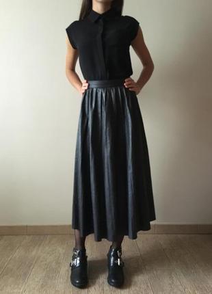 Длинные юбки от зары