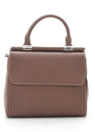 Новая женская коричневая сумка david jones