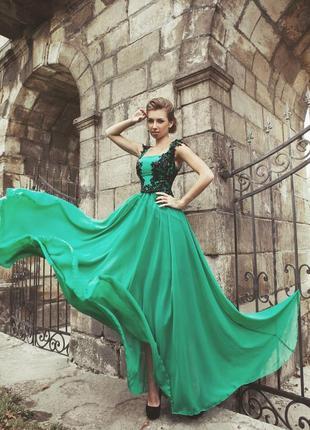 Вечернее платье на выпускной от известного дизайнера оксана муха