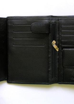Vip кожаный кошелек портмоне бумажник, 100% нат. кожа ската + телячья, доставка бесплатно3 фото
