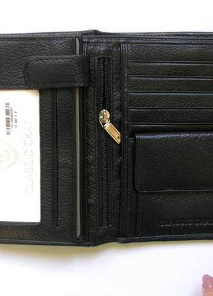 Vip кожаный кошелек портмоне бумажник, 100% нат. кожа ската + телячья, доставка бесплатно4 фото