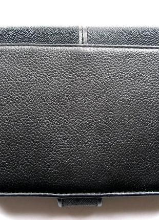 Vip кожаный кошелек портмоне бумажник, 100% нат. кожа ската + телячья, доставка бесплатно9 фото