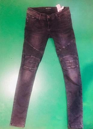 Оригинальные джинсы balmain