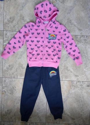 Спортивный костюм девочке 4-5 лет