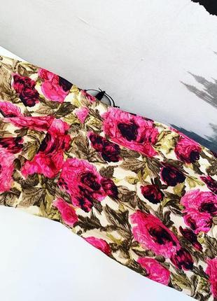 Льняное платье в пионы debenhams  p 10