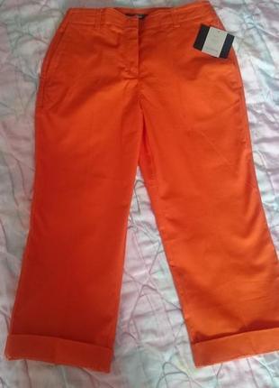 Оранжевые капри «liz claiborne»