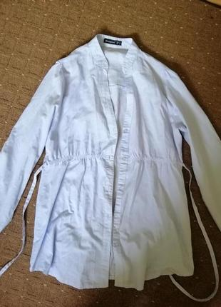 Atmosphere легкая,красивая рубашка,  хлопок, 12 размер