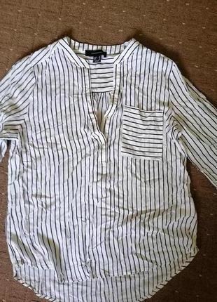 Atmosphere легкая,красивая рубашка, вискоза, 12 размер