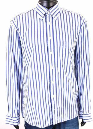 Мужская брендовая рубашка gant oxford, оригинал. р.52, швеция
