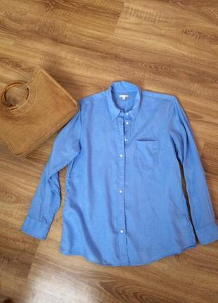 Льнаная рубашка от gap