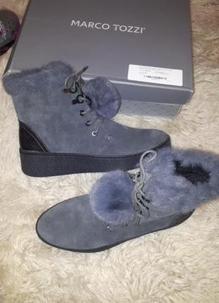 Зимние сапоги ботинки marco tozzi 41