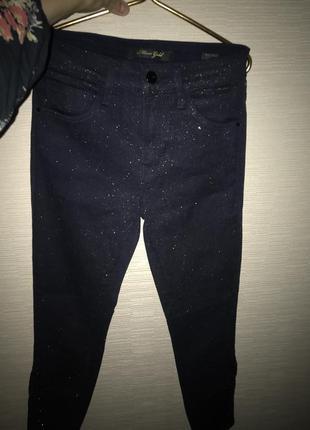 Блестящие джинсы