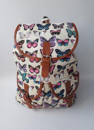 Стильный женский рюкзак, тканевый рюкзак
