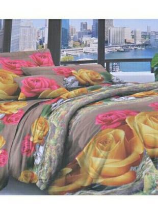 Комплект постельного белья полуторка бязь