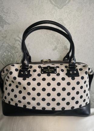 Люкс бренд роскошная большая сумка kate spade, new york