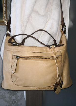 Мега стильная кожаная сумочка montaray
