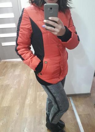 Куртка зимняя теплая холлофайбер