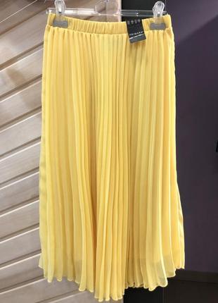 Плиссированная юбка 🍌