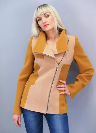 Пальто кашемировое короткое, р.s
