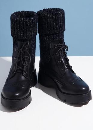 Деми ботинки-сапоги в наличии