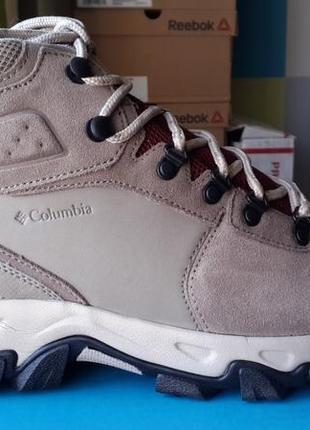 Columbia оригинал   новые кожаные ботинки
