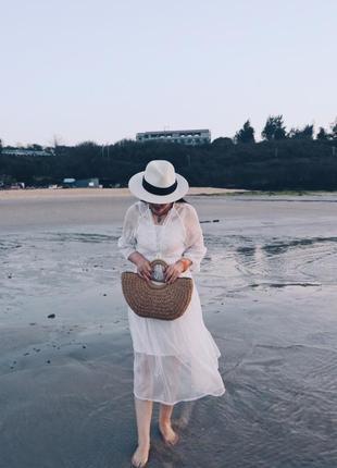 Плетеная пляжная сумка, сумка из соломы, соломенная сумка летняя