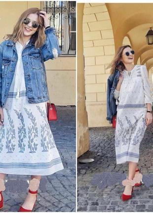 Легчайшее платье zara