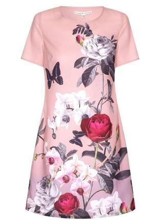 Платье с цветами плаття uttam london / розпродаж