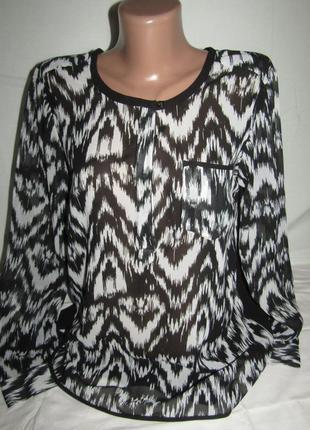 Красивая блуза р-р s бренд vero moda