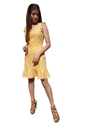 Легкий жіночий сарафан, лляне плаття, розпродаж літніх виробів
