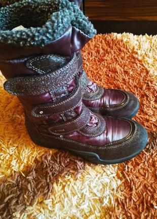 Зимние  сапоги primigi с gore-tex для девочки