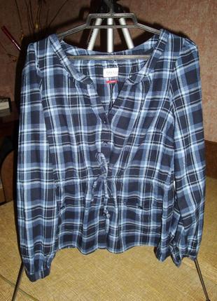 Фланелевая рубашка / блуза park lane