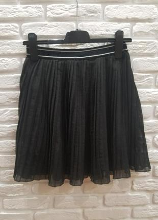 Плиссированная юбка плиссе blukids на подкладке