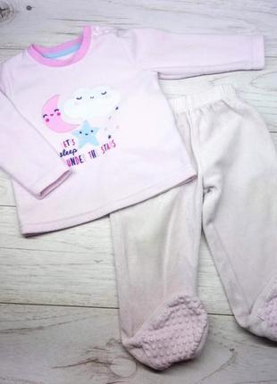 Комплект, пижама флис