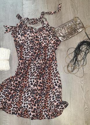 Шикарный сарафан: леопардовый принт