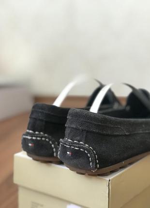 Кожаные кожа туфли балетки мокасины лоферы томи tommy hilfiger5 фото