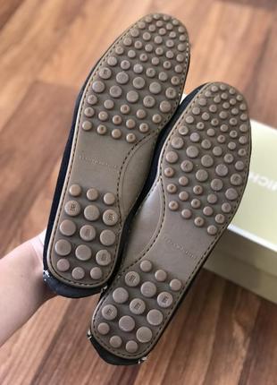 Кожаные кожа туфли балетки мокасины лоферы томи tommy hilfiger3 фото