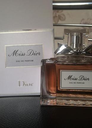 Парфюм miss dior eau de parfum 100ml, оригінал