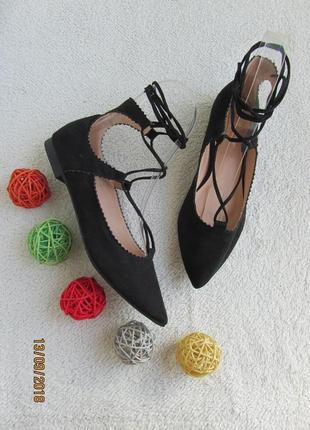 Туфли со шнуровкой